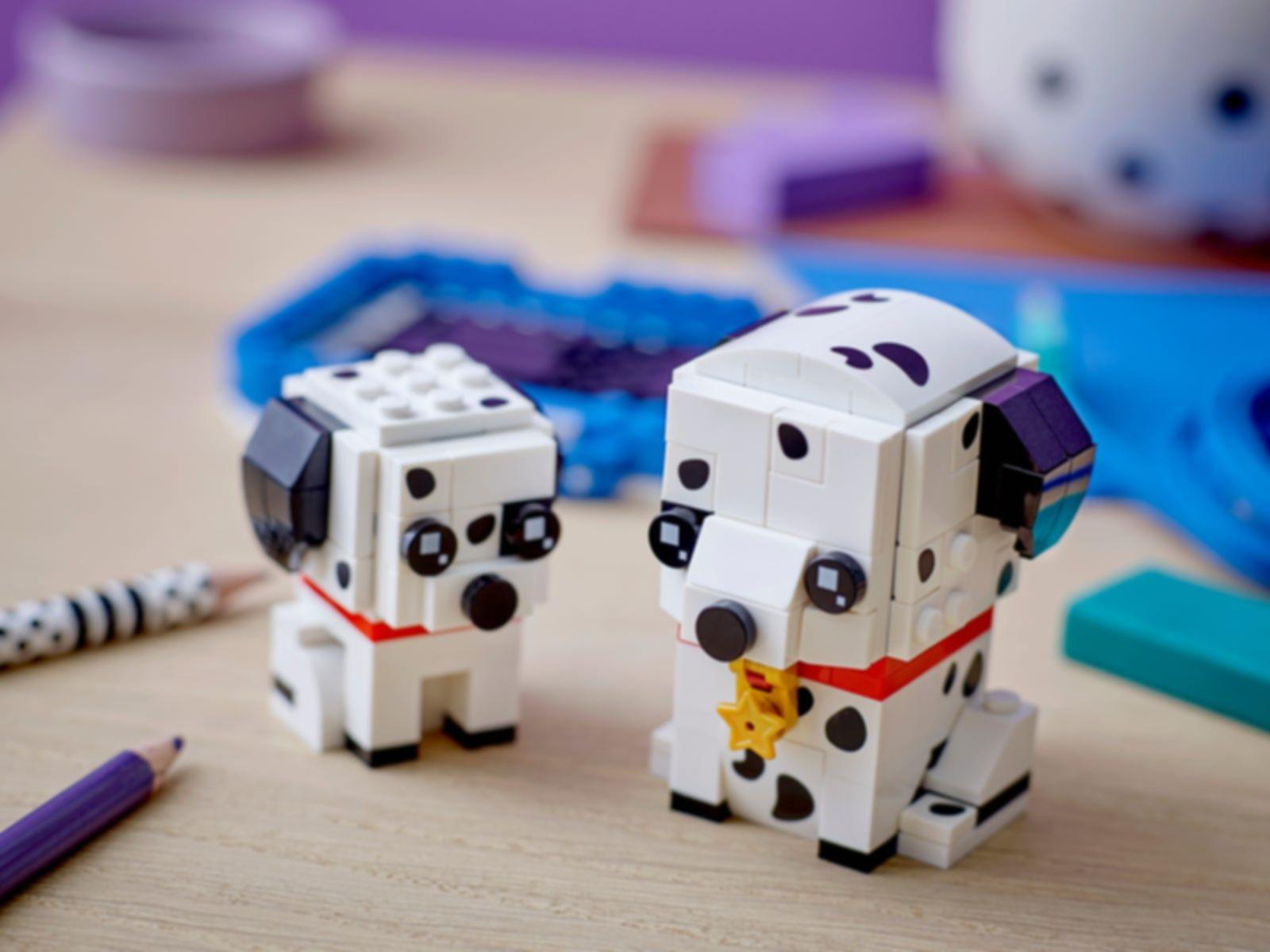 LEGO® BrickHeadz™ Dalmatian gameplay