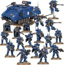 Warhammer 40k - Space Marines - Combat Patrol miniatures