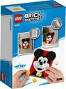 LEGO® Brick Sketches™ Mickey Mouse back of the box