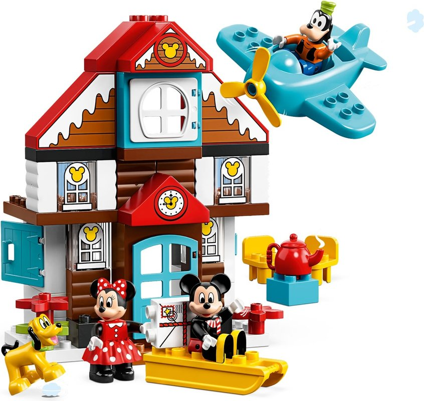 Mickey's Vacation House components