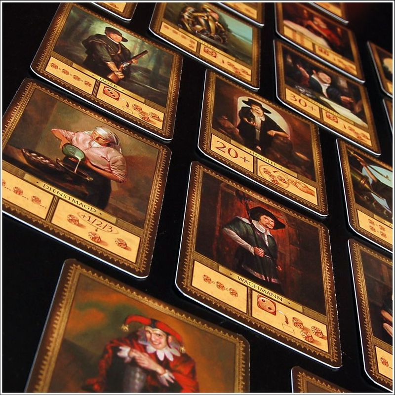 To Court the King cards