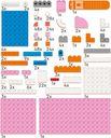 LEGO® DOTS Desk Organizer components
