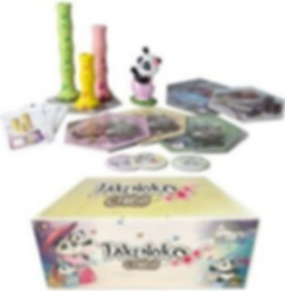 Takenoko Chibis Collector's Edition components