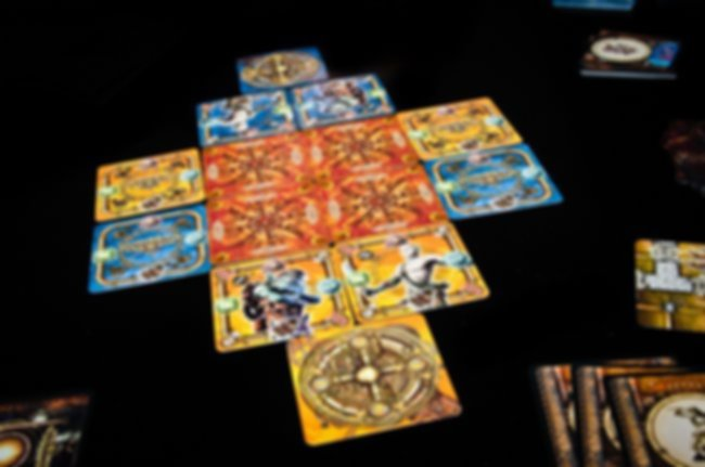 Dungeon Twister: The Card Game gameplay