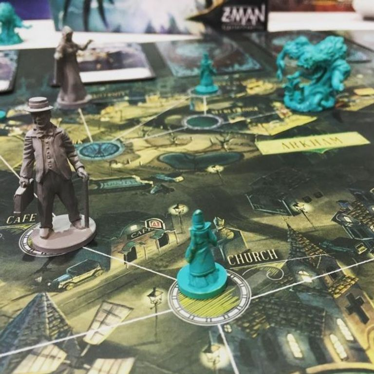 Pandemic: Reign of Cthulhu gameplay