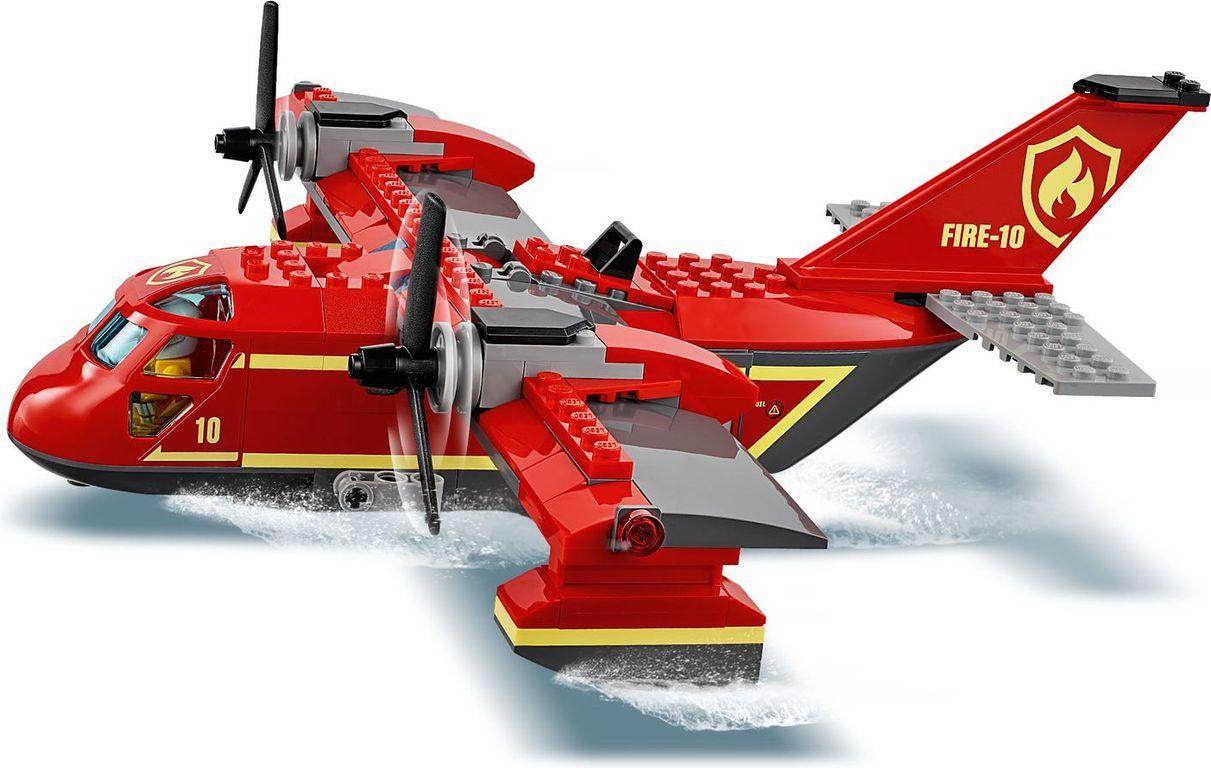 Fire Plane components