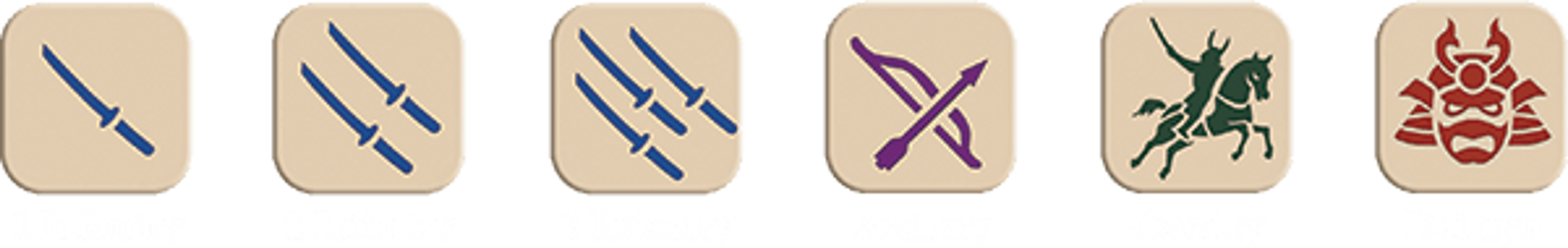 Age of War dice