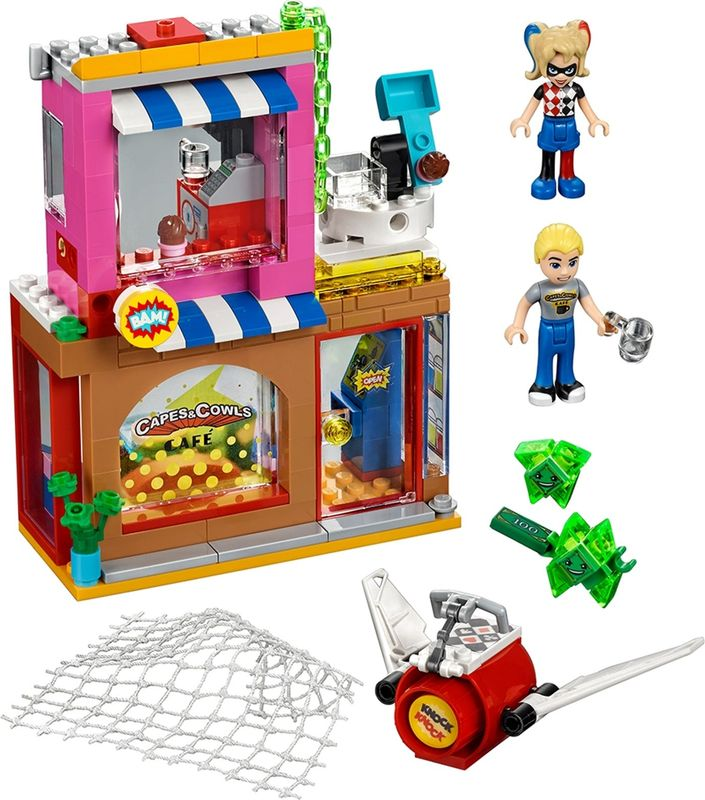 LEGO® DC Superheroes Harley Quinn™ to the rescue components