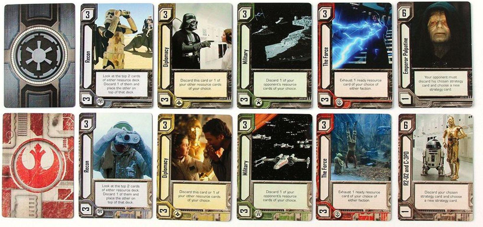 Star Wars: Empire vs. Rebellion cards
