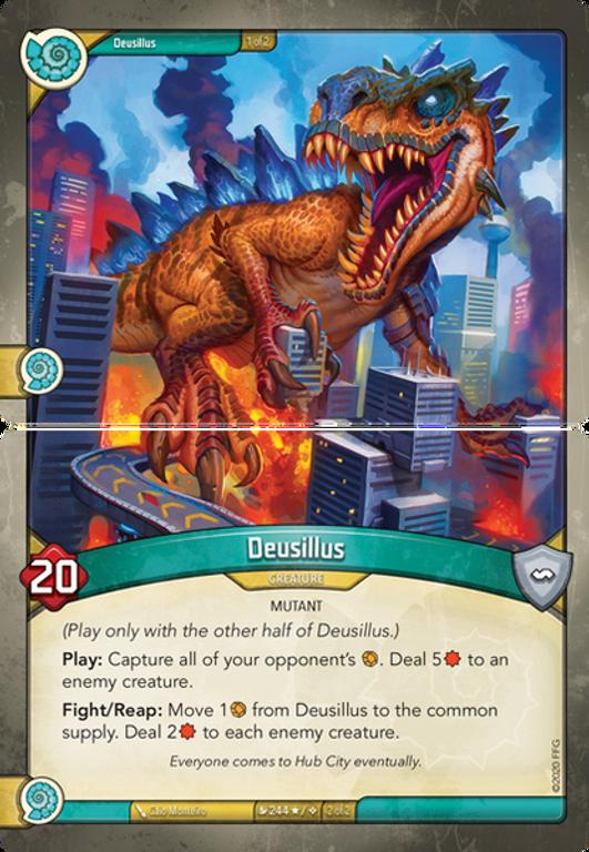 KeyForge: Mass Mutation - Archon Deck Deusillus cards