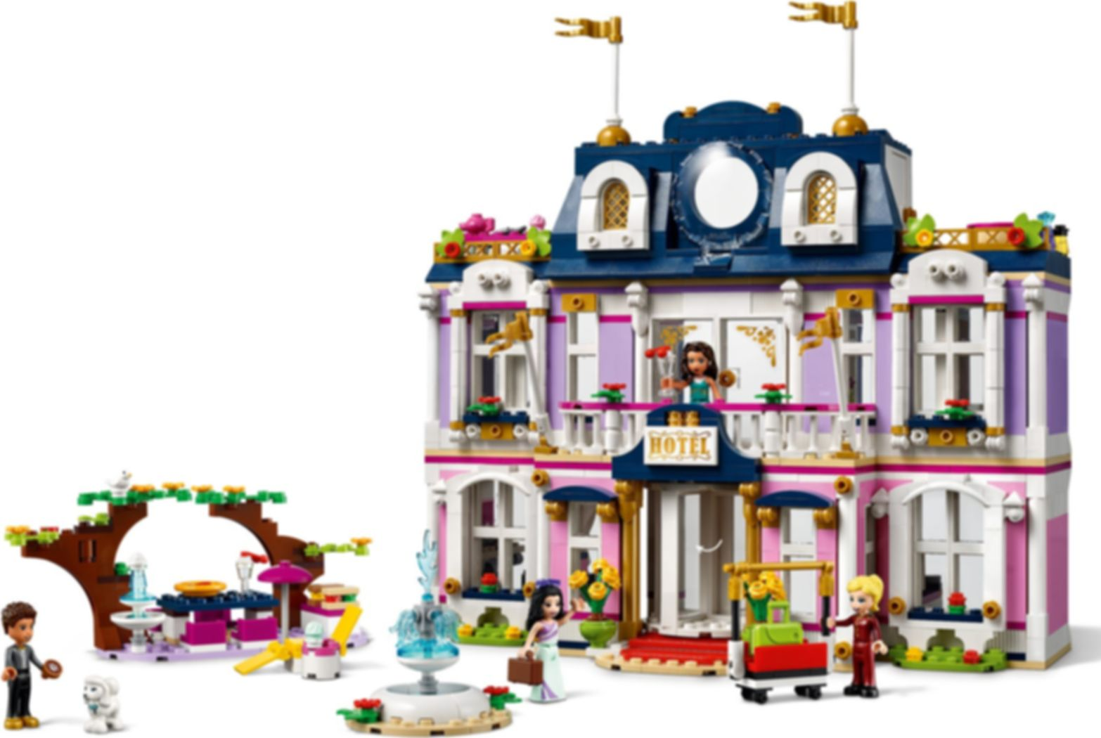 LEGO® Friends Heartlake City Grand Hotel gameplay