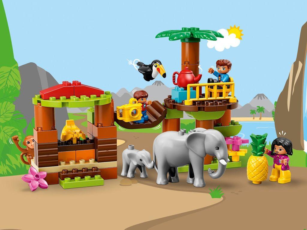 Tropical Island gameplay