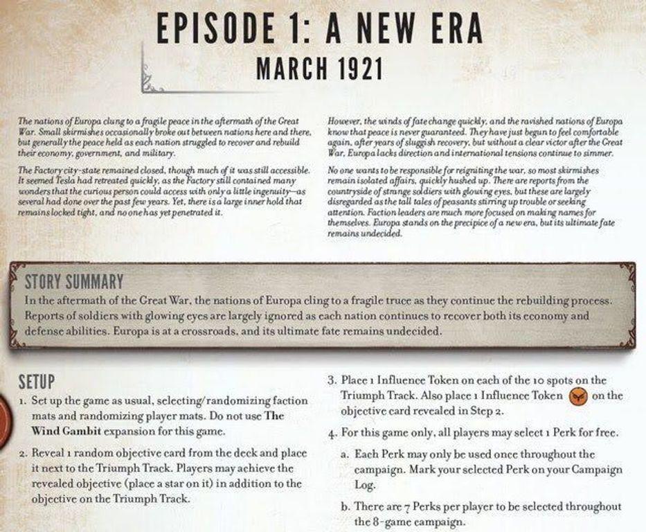 Scythe: The Rise of Fenris manual