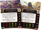 Star Wars: X-Wing (Second Edition) – Eta-2 Actis Expansion Pack cards