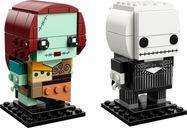 LEGO® BrickHeadz™ Jack Skellington & Sally components