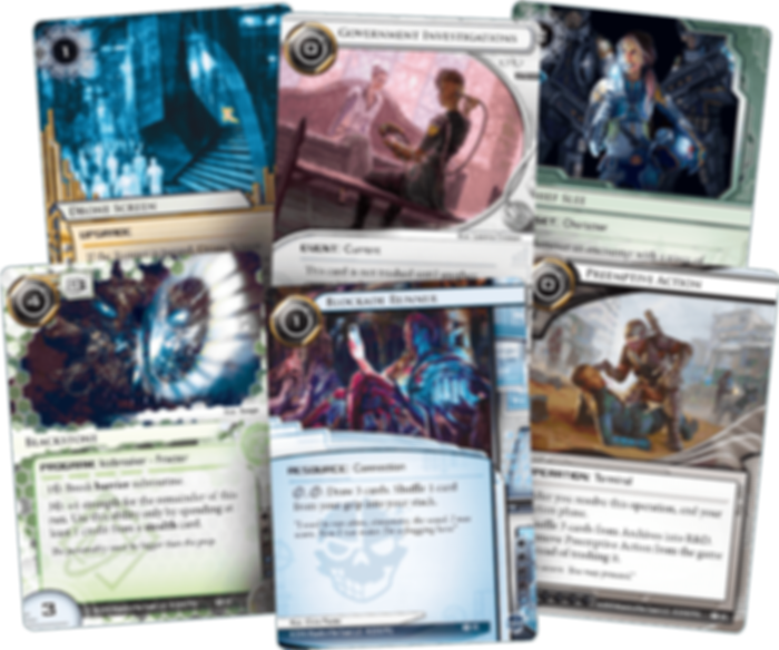 Android: Netrunner - Intervention cards