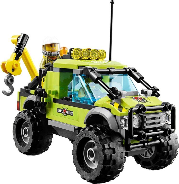 LEGO® City Volcano Exploration Truck components