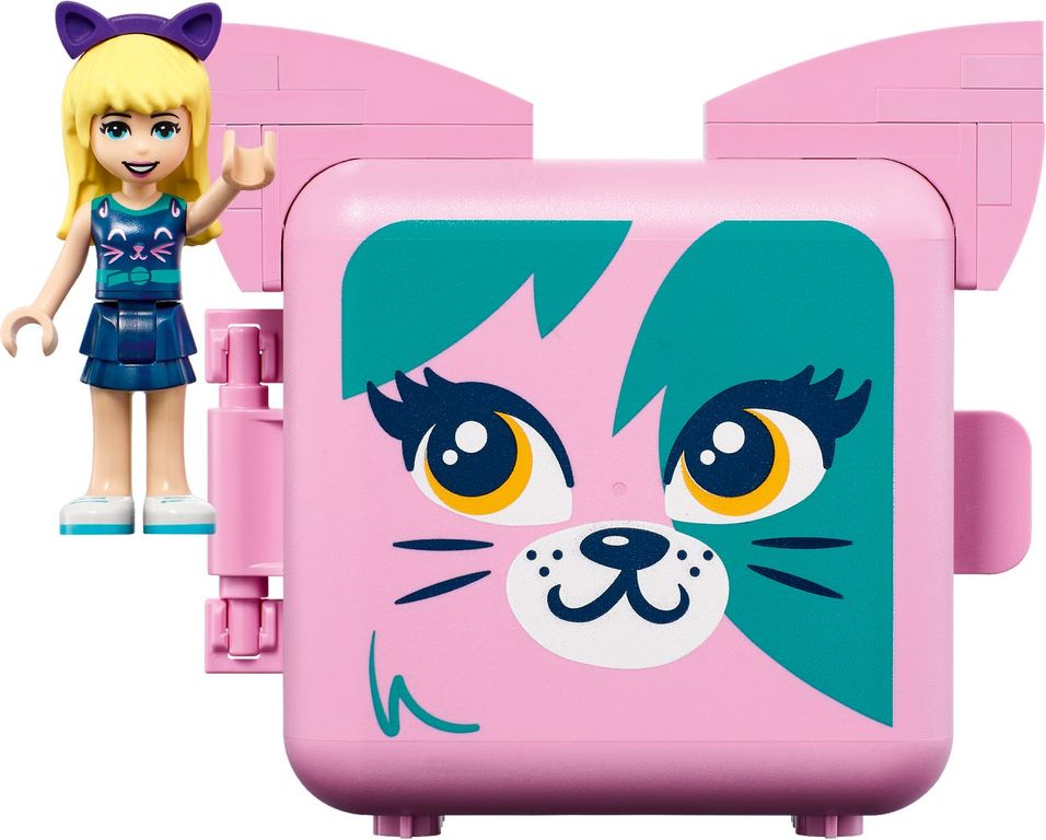 LEGO® Friends Stephanie's Cat Cube components