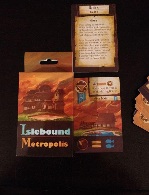 Islebound: Metropolis Expansion components