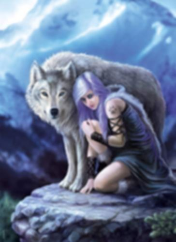 Anne Stokes: Protector