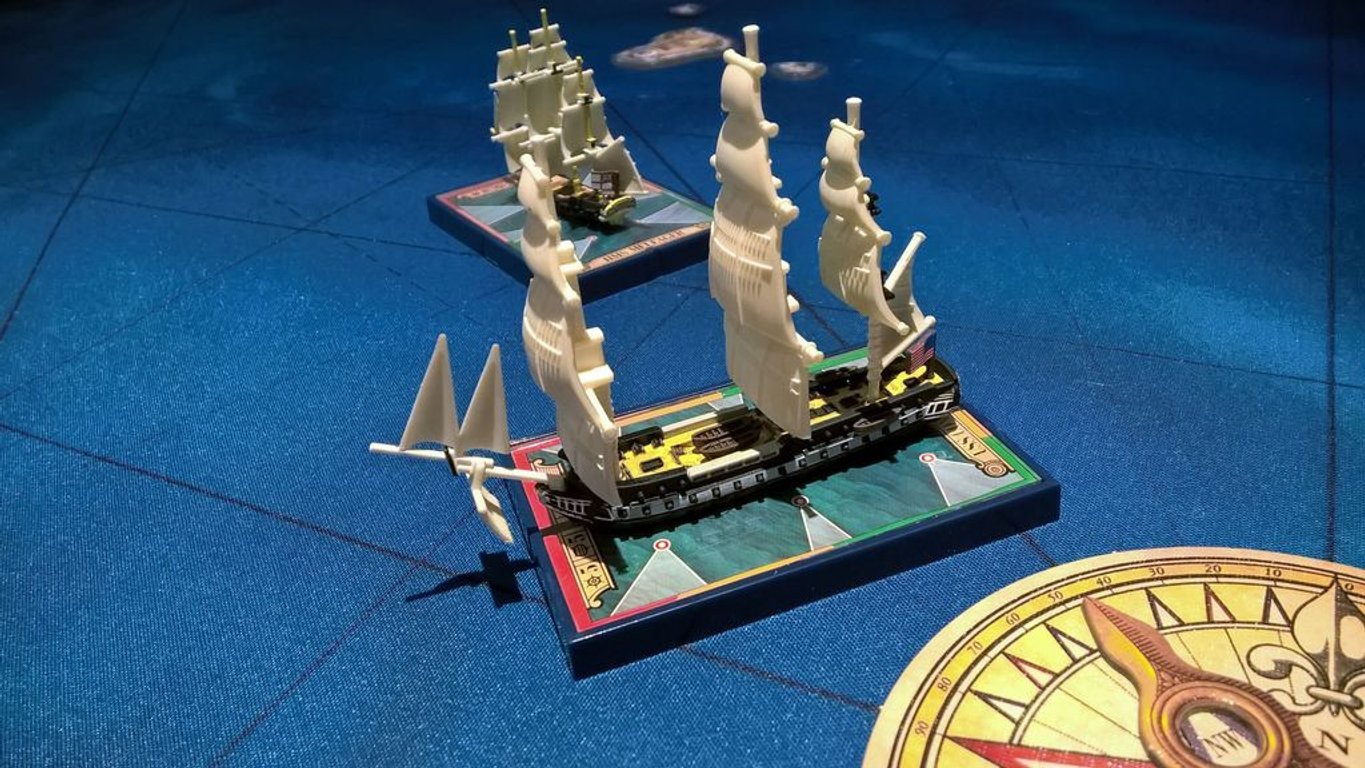 Sails of Glory Special Ship Pack: USS Constitution miniatures