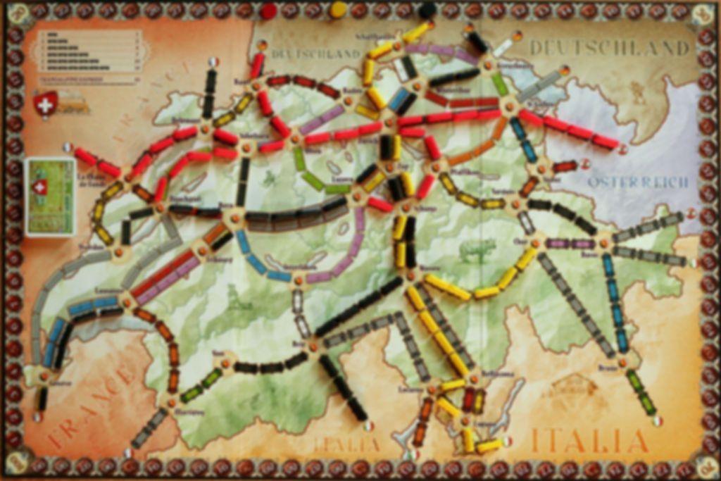 Ticket to Ride Map Collection: Volume 2 - India & Switzerland spelbord