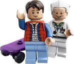 LEGO® Ideas The DeLorean Time Machine minifigures
