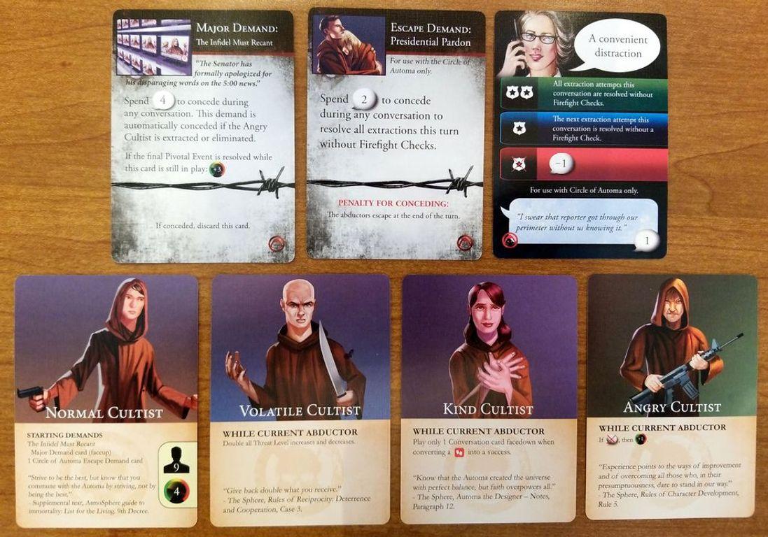 Hostage Negotiator: Abductor Pack 5 cards
