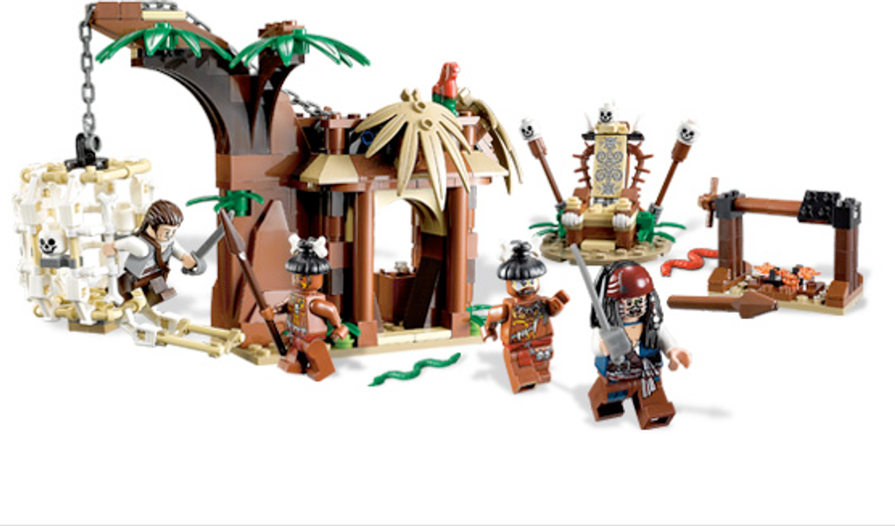 LEGO® Pirates of the Caribbean The Cannibal Escape gameplay