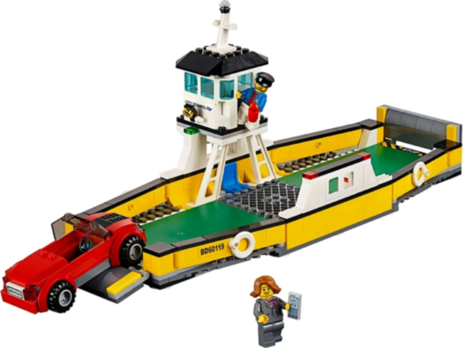 LEGO® City Ferry components