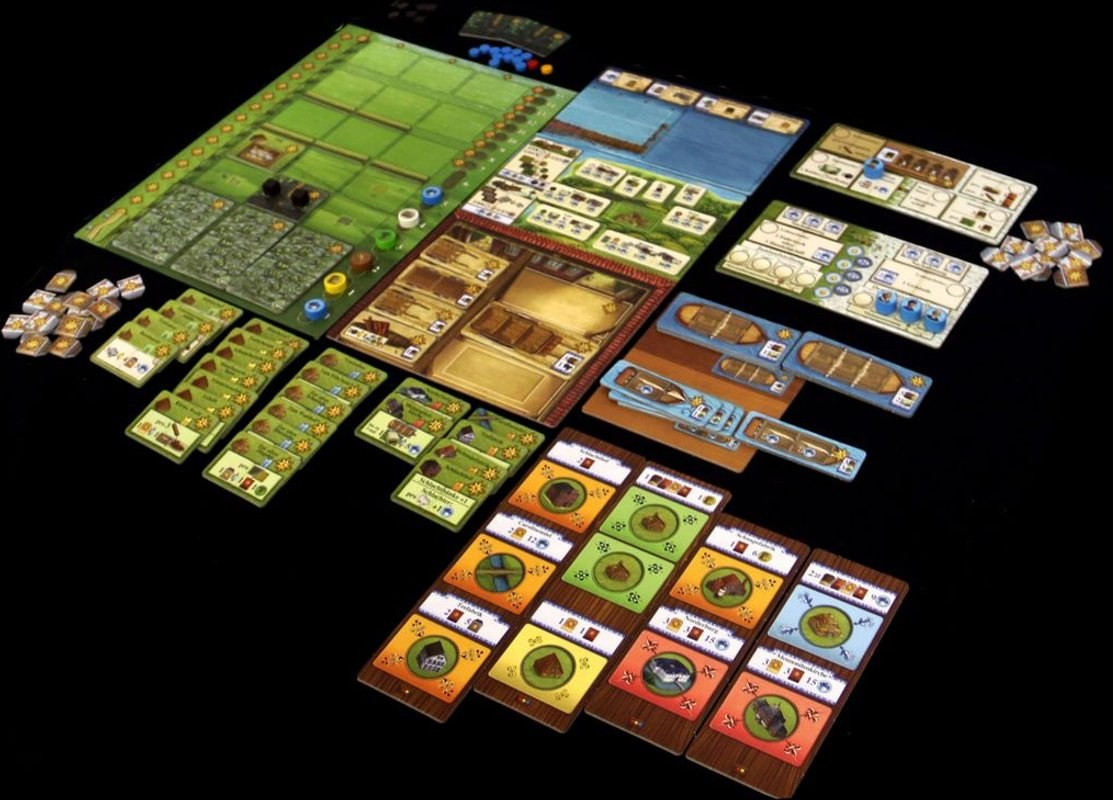 Fields of Arle: Tea & Trade components