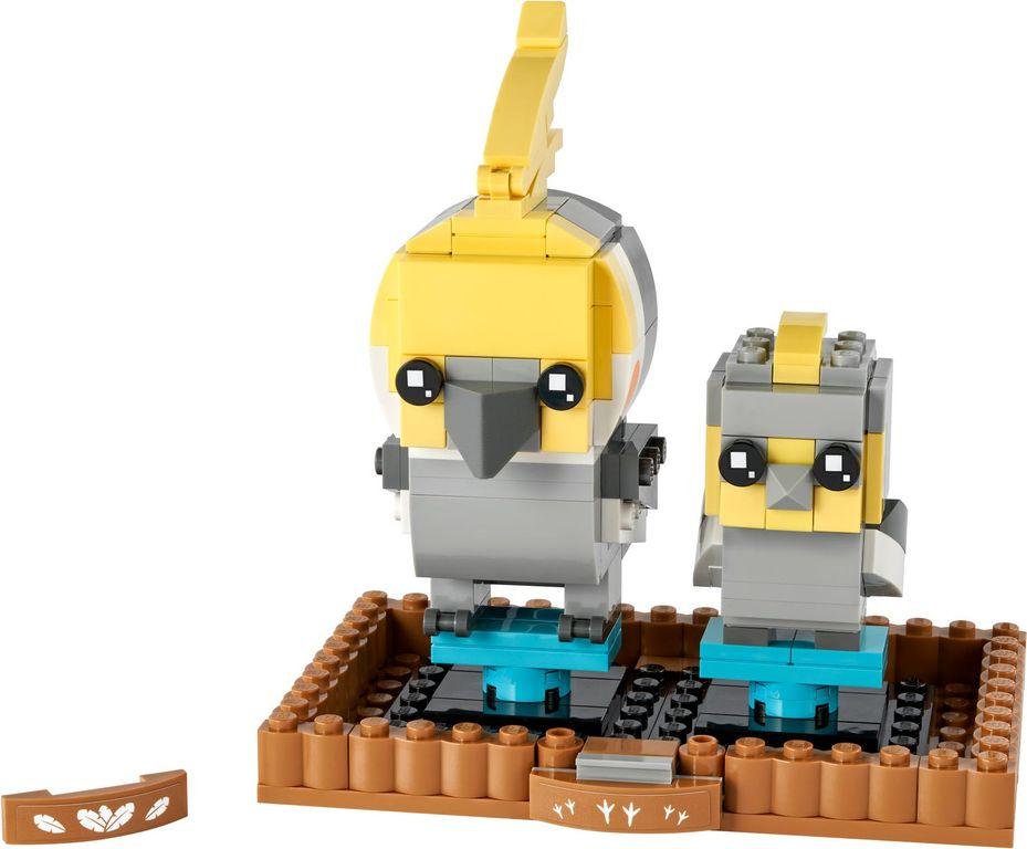 LEGO® BrickHeadz™ Cockatiel components