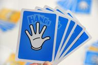 Hands cards