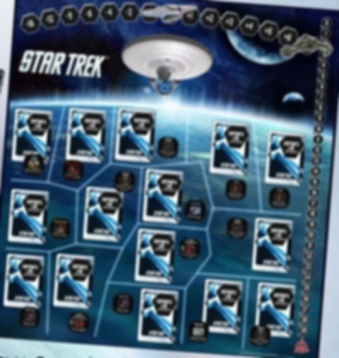 Star Trek: Expeditions game board