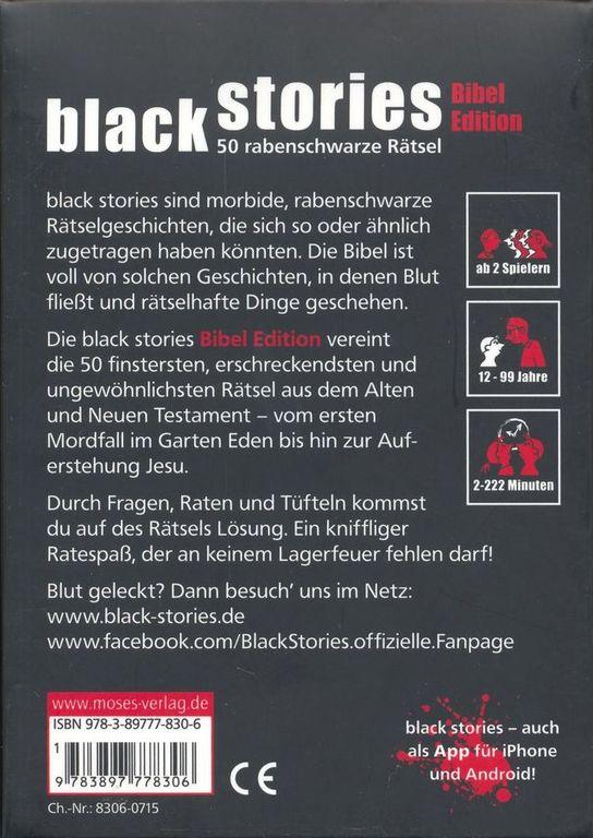 Black Stories: Bibel Edition back of the box