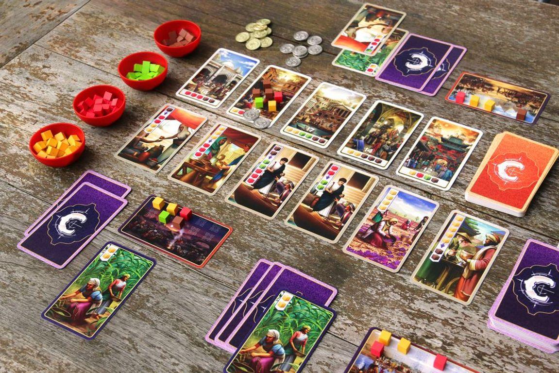 Century: Spice Road gameplay