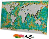 LEGO® Art World Map components