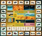 Automobile game board