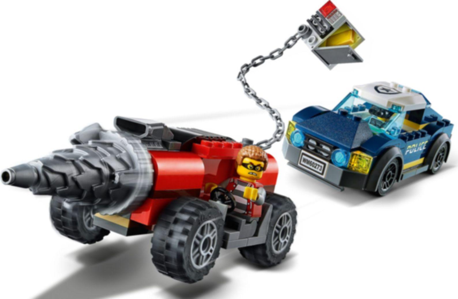 LEGO® City Elite Police Driller Chase gameplay