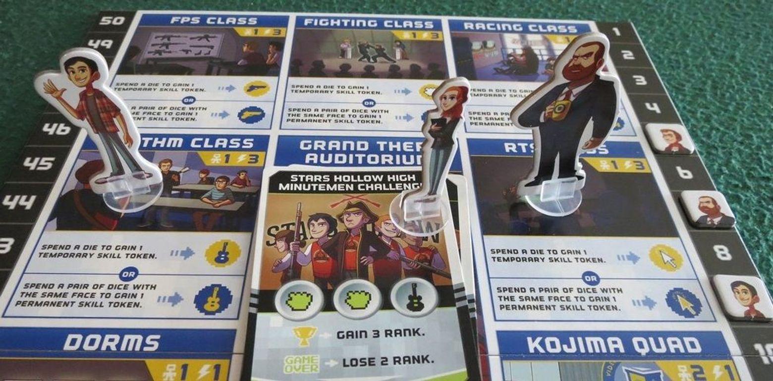 Video Game High School gameplay