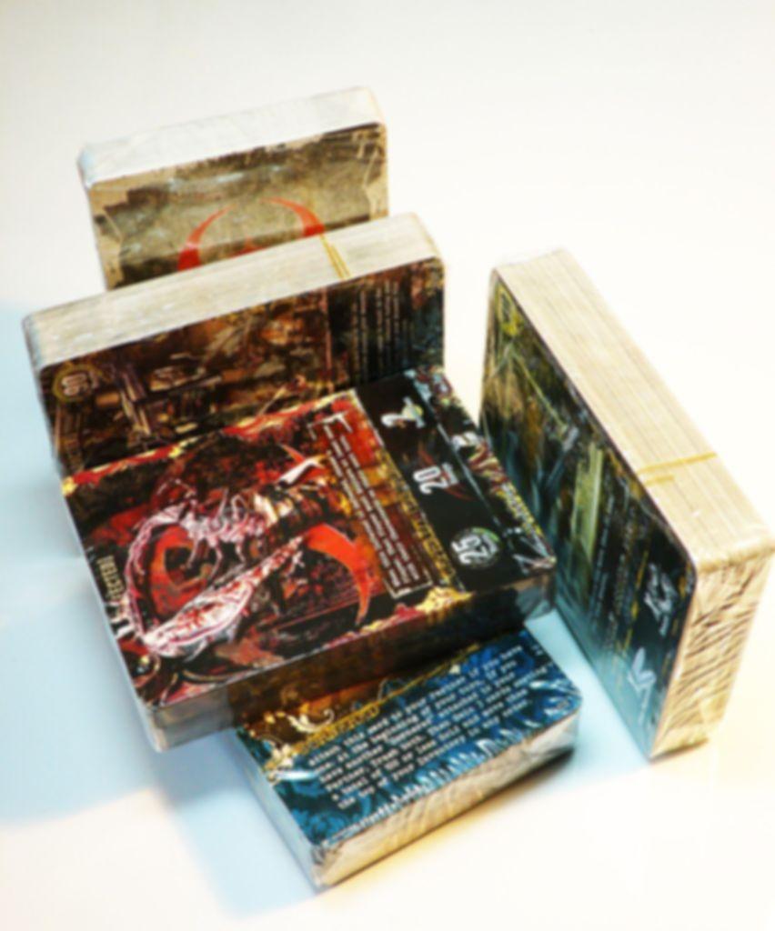 Resident Evil Deck Building Game: Alliance components