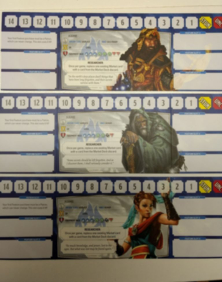 Dragonfire: Character Pack - Heroes of the Sword Coast components