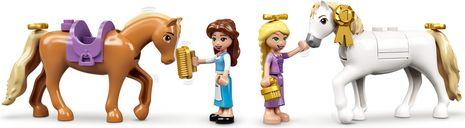 LEGO® Disney Belle and Rapunzel's Royal Stables minifigures