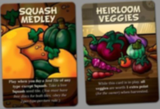 Garden Dice: The Card Expansion cards