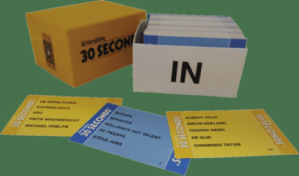 30 Seconds extension components
