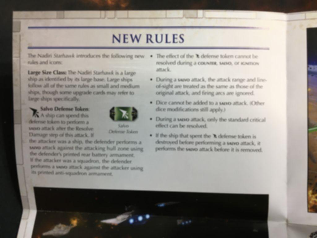 Star Wars: Armada - Nadiri Starhawk Expansion Pack manual