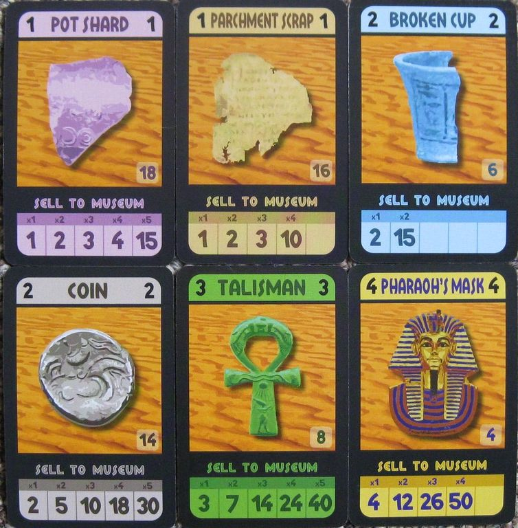 Archaeology: The Card Game cards