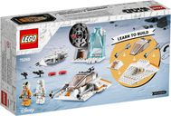LEGO® Star Wars Snowspeeder™ back of the box