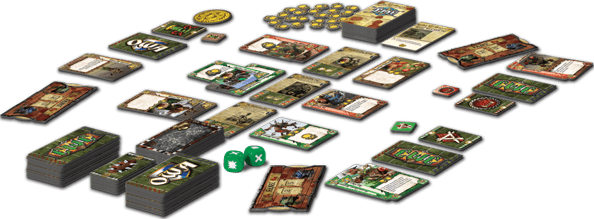 Blood Bowl: Team Manager - The Card Game components