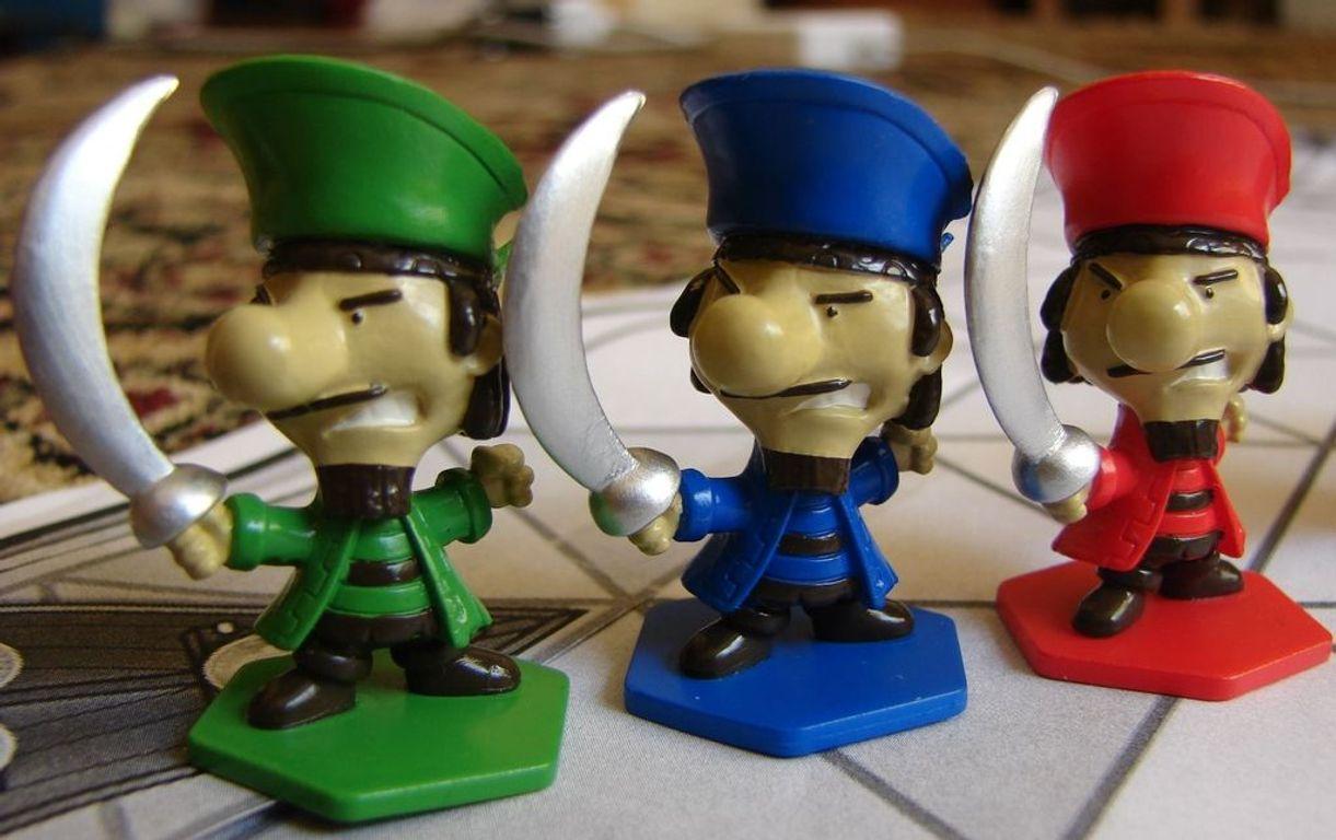 Pirate Versus Pirate miniatures